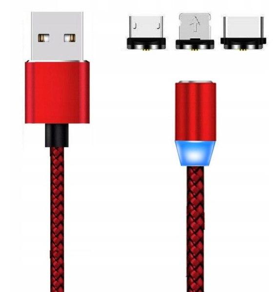 Kabel magnetyczny 3w1 Iphone USB C Micro USB Eleo Sklep Internetowy z Gadżetami </p>                     </div>   <!--bof Product URL --> <!--eof Product URL --> <!--bof Quantity Discounts table --> <!--eof Quantity Discounts table --> </div>                        </dd> <dt class=